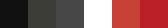 Colour palette for Architecture Firm Logo